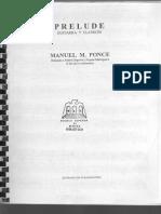 Preludio Guitarra y Piano Manuel Ponce
