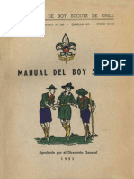Manual de Los Boy Scouts de Chile