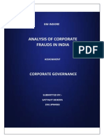 Corporate Frauds