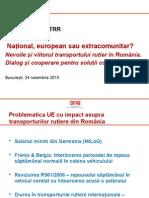 Conferințele UNTRR Bucuresti 2015