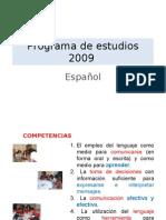 Proyectos Didácticos en los programas de estudio de Español