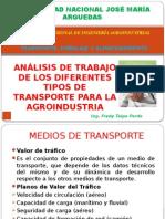 Análisis de Transporte