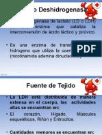 LDH lactato deshidrogenas