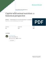 Nutrição de Animais Silvestres 2015 Livro