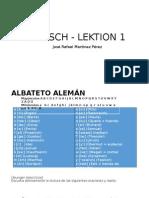 Aleman Lesson1.2