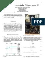 Control de un motor DC  con logic Difusa