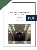 Wind Tunnel Revitalization Project