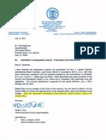 Marc Capizzi's Current Contract