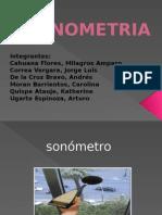 SONOMETRIA