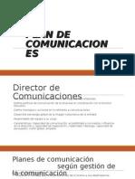 Plan de Comunicaciones Jeanne Claude Promperú