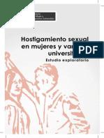 Hostigamiento sexual en mujeres universitarias