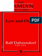 Dahrendorf, R - Law_and_Order