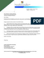 Surat Mohon Kebenaran Jualan Pau