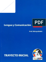 Lengua y Comunica c i On