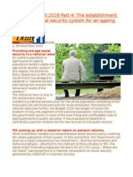 EPS and Budget 2016 Part 4 the Establishment of a Viable Social Security System for an Ageing Population