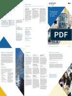 Law Postgraduate Course Guide 2016
