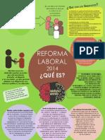 Infograma Reforma Laboral