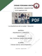 Informe Arq y Urb Personal