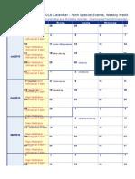 ashram 2016--calendar-holidays