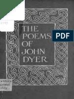 The Poems of John Dyer