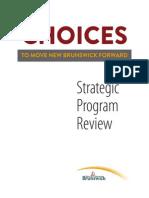Choices To Move New Brunswick Forward