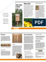 solitary bee brochure