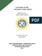Laporan Praktikum Fisika Medis SCA