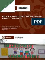 Presentación Educacion Inclusiva Nueva