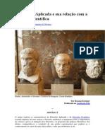 A Filosofia Aplicada e Sua Relação Com a Filosofia Científica