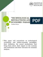 Revoluciones tecnologicas y paradigma tecnoeconomico de Carlota Perez