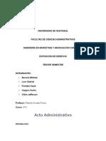 Exposicion Acto Administrativo