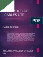 Probador de Cables Utp