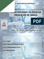 O Uso Racional Da Água Na Produção de Obras