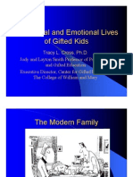 The Social and Emotional Lives of the Gifted Child