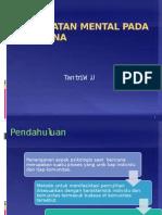 Kesehatan Mental Pada Bencana