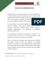 El Registro Unico de Contribuyente (1)