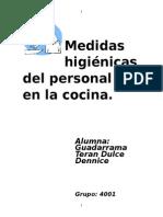 Medidas higiénicas del personal y en la cocina.docx