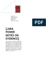 JARA 2012 EVID POWER NOTES.pdf