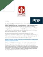 Acorn Message