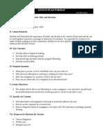 webquest lesson plan 1