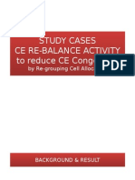 STUDY CASES CE RE-BALANCING by Regrouping Cell Allocation to Reduce CE C...
