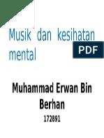 Musik Dan Kesihatan Mental