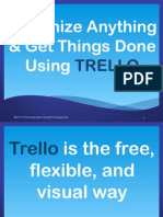 Organize Everything & Get Things Done Using Trello