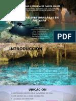 Aguas Subterrraneas en Arequipa