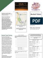 Ticket Order Form PDF