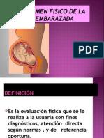 Examen Fisico Mujer Embarazada