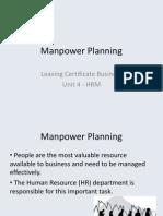 manpower planning pdf