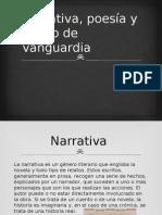 Narrativa, Poesía y Teatro de Vanguardia