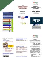 Triptico Lineamiento de Analisis de Riesgo en Areas Compartidas