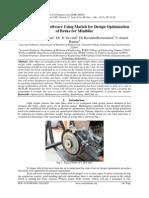 Development of Software Using Matlab for Design Optimization of Brake for Minibike